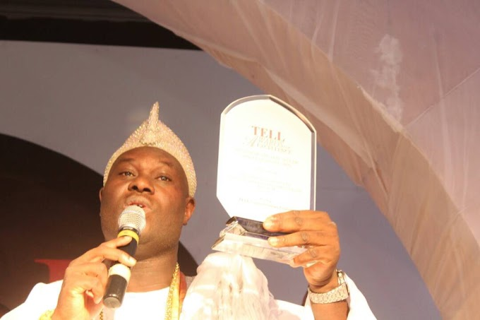 Tell Magazine Honours Ooni Of Ife With Man Of The Year Award -Photos