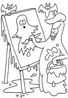 Desenhos de Halloween para Colorir