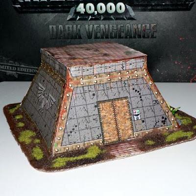 Papercraft Warhammer Bunker