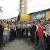 Kapolda Sumut Jumat Barokah Ke Abang Betor Di Kota Medan