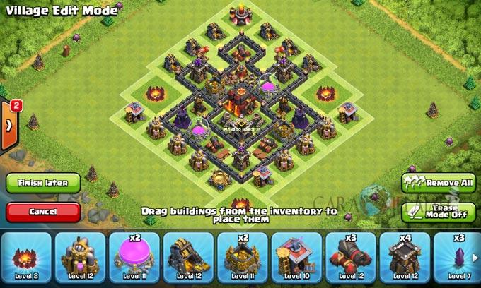 pertahanan terbaik untuk base war th 6 di clash of clans 22