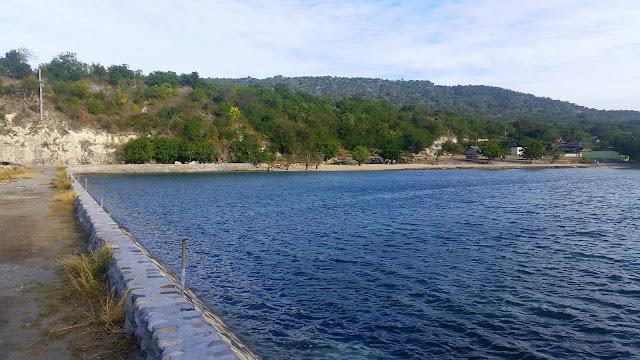 View of Beautiful Pacman Beach