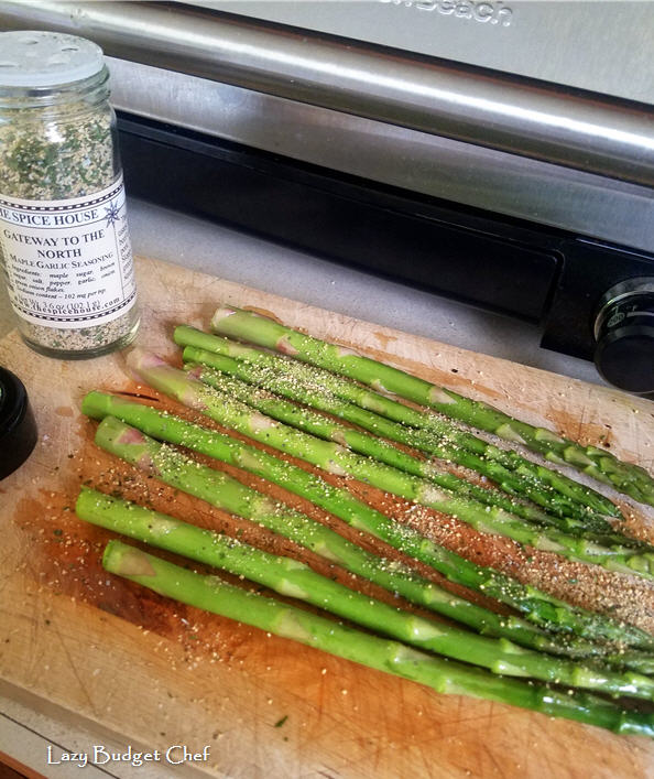 easy grilled maple asparagus recipe