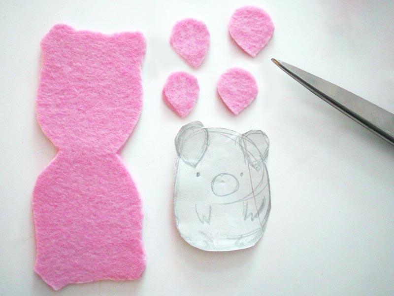 KuneCoco • DIY • Schweine-Kabelhalter • Material