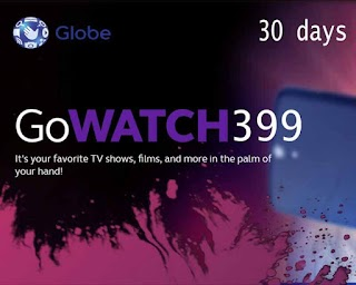 Globe GOWATCH399 – 10GB of Data for Streaming up to 30 Days