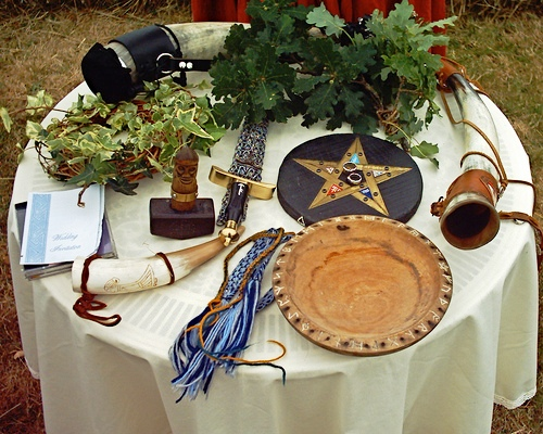Handfasting Ritual With Eight Cords