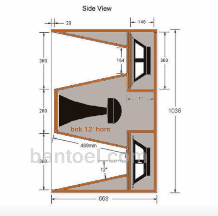 Box Speaker 12 Inch untuk penggunaan Lapangan (Outdoor)