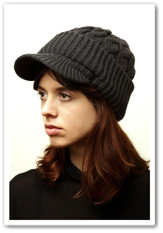 5be3516c8820f 7headz Hand Knitted Newsboy Beanie Cable Knitted Hat for Women Snowboarding