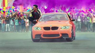 Tushar Kapoor & BMW Car HD Wallpaper In Golmaal Again Movie