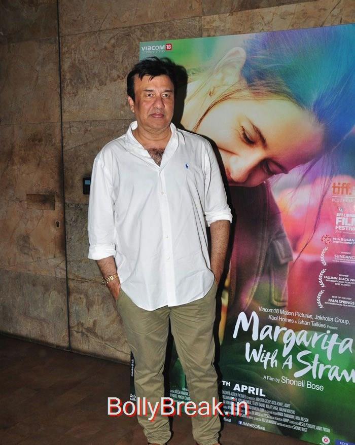 Anu Malik, Kalki Koechlin , Aditi Rao Hydari HOt Pics From 'Margarita, With A Straw' Special Screening