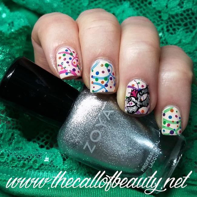 Carnival manicure