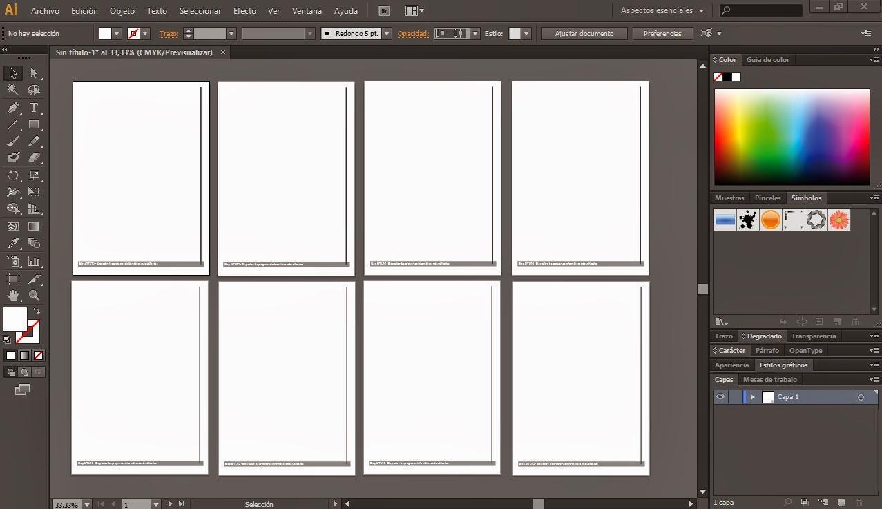 Copiar Un Elemento En Todas Las Mesas De Trabajo En Illustrator Aytuto Blog