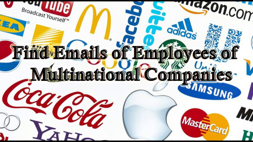How to find the contact details of employees of any company