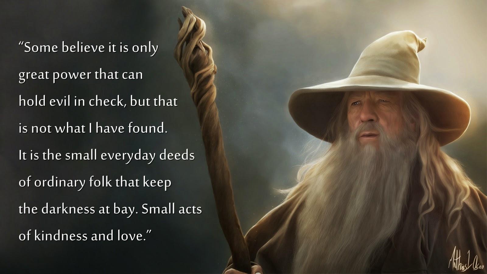 Desktop Wallpaper Tolkien Quote Firesetter News A Tale Of Two Feasts