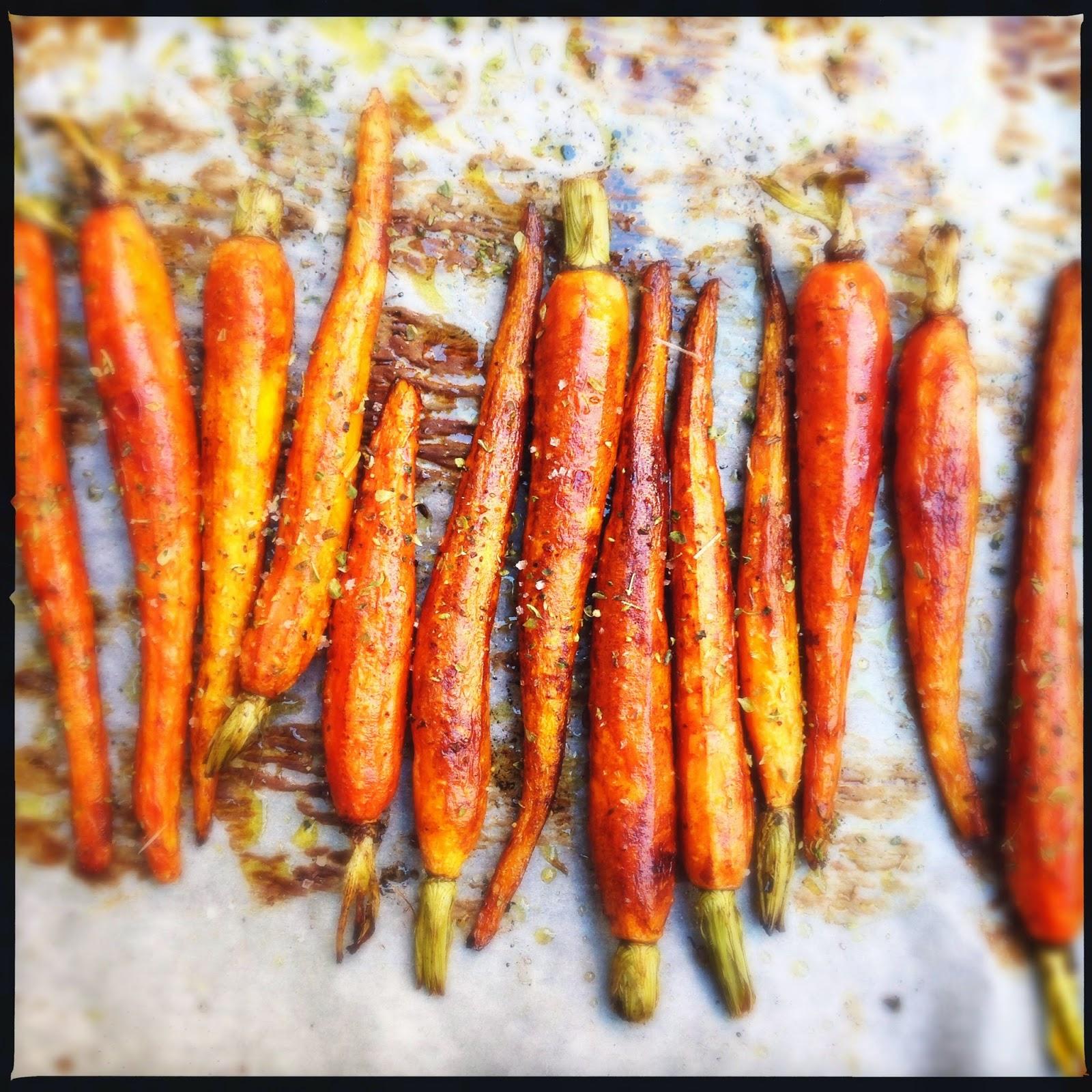 Ma cuisine moi carottes glac es au four for Cuisine entiere