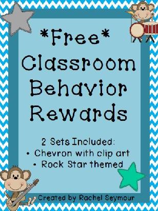 A - B - Seymour: *FREE* Classroom Behavior Rewards for Successful ...