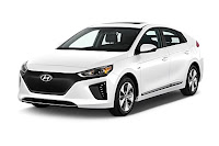 2017 Hyundai Ioniq electric limited hatchback (Credit: cars.coned.com) Click to Enlarge.