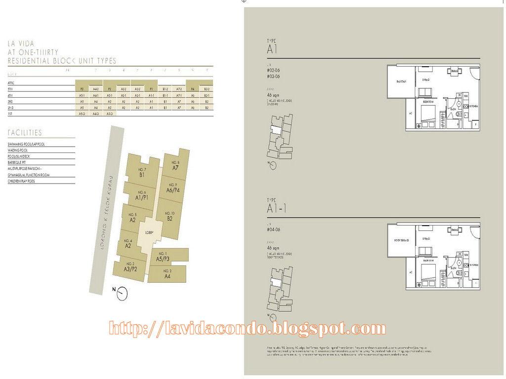 La Vida Site Floor Plan