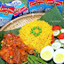 Nasi Kuning & Ayam Masak Merah