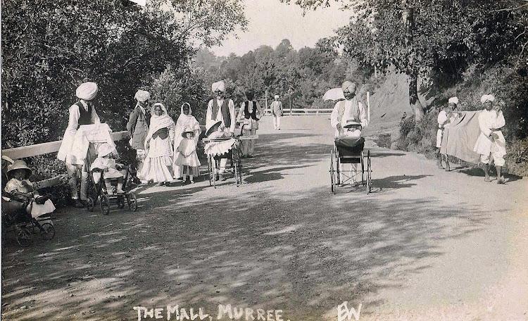Life at the Mall - Murree, Punjab c1900's