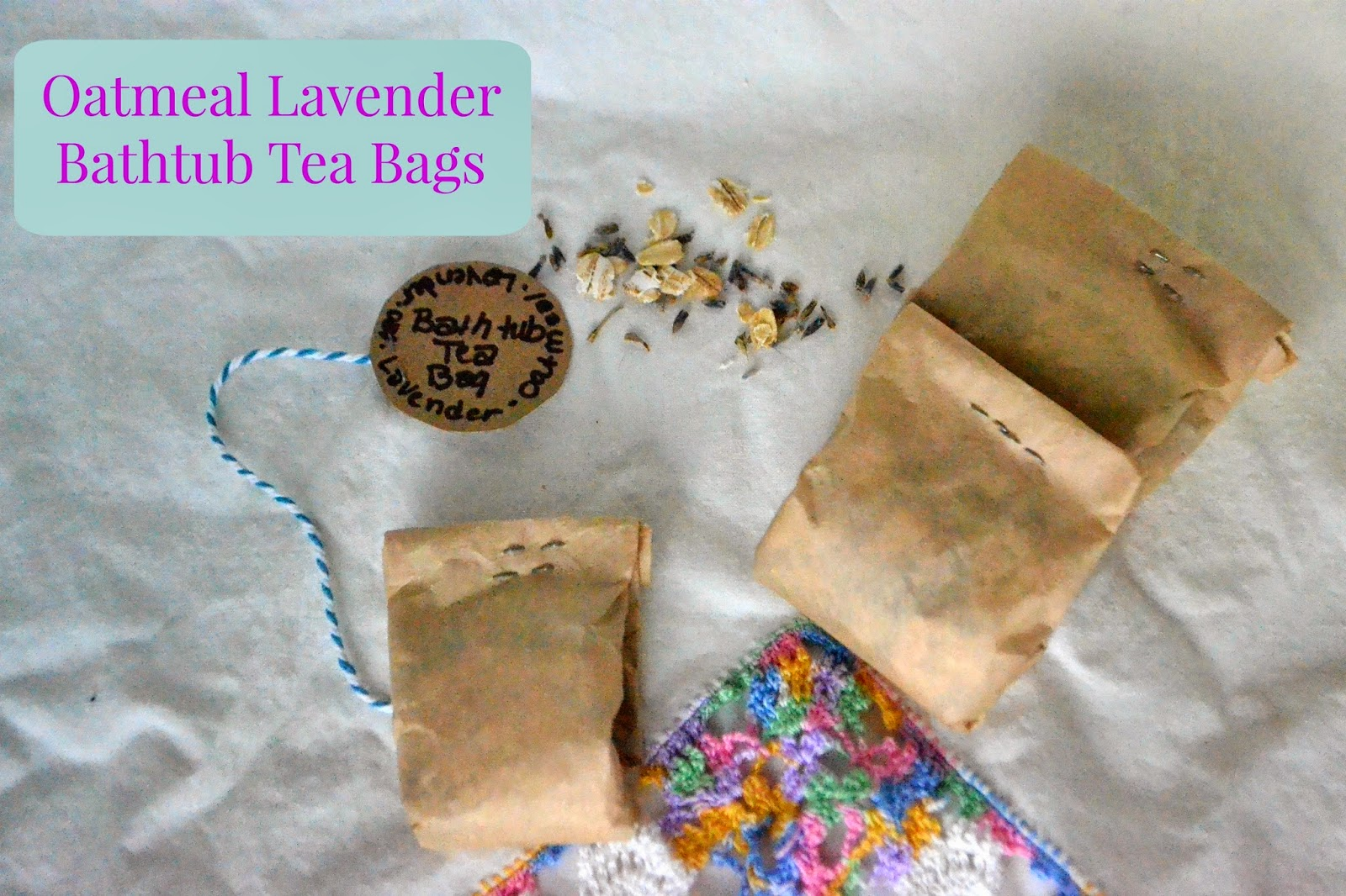 Bath tub Tea Bags