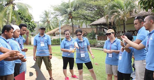 Paket Outbound Realta Tour travel: Tanjung Lesung Beach Hotel
