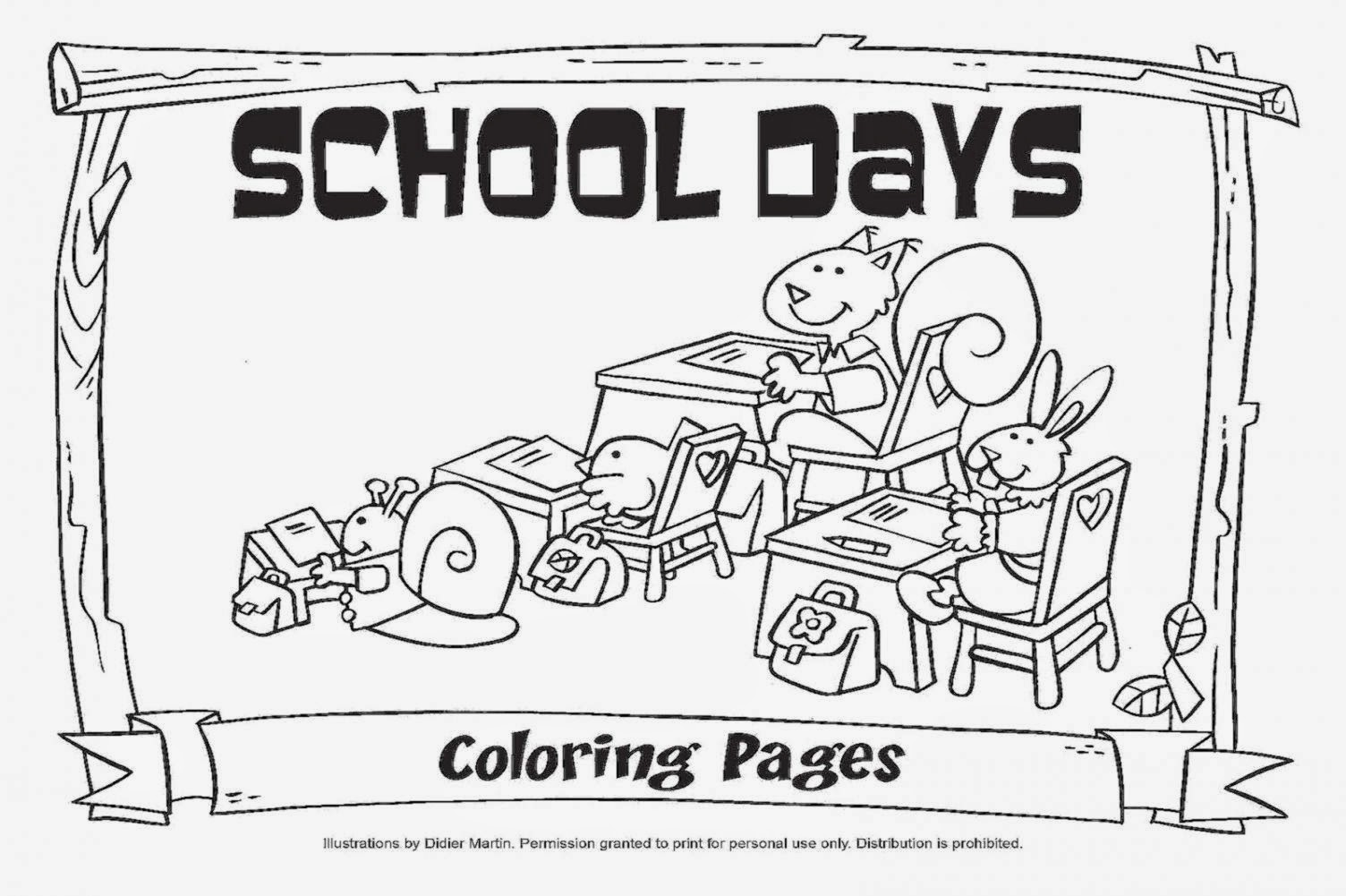 First day of school color pages first day of school for 100 days of school coloring page