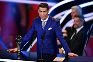 Wrist watch meant for Cristiano Ronaldo, stolen at FIFA Awards.