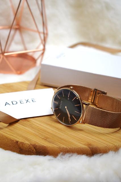 Adexe Watch Meek Grande Rose Gold
