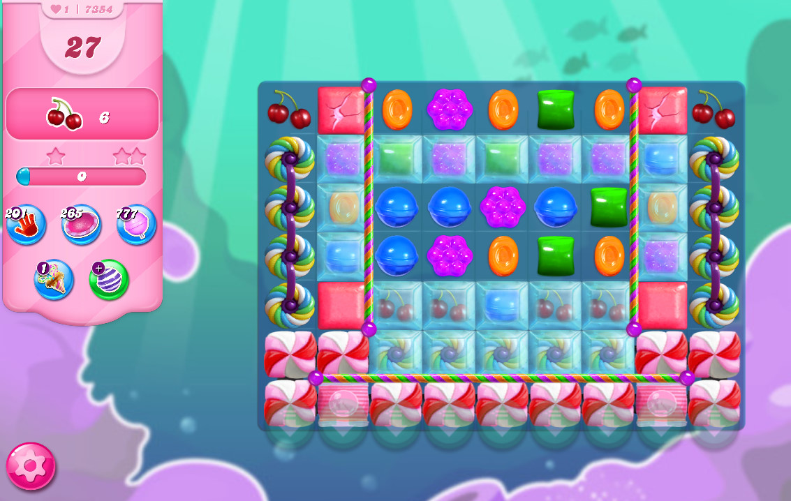 Candy Crush Saga level 7354