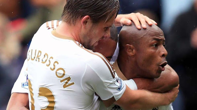 All 12 Goals Andre Ayew Scored At Swansea City Season [Video]