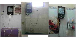 instalasi water heater