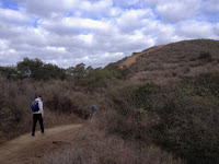 Heading north on Mystic Canyon Trail, Glendora