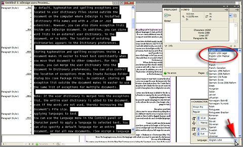 DesignEasy: How to Change Spelling Dictionary in InDesign