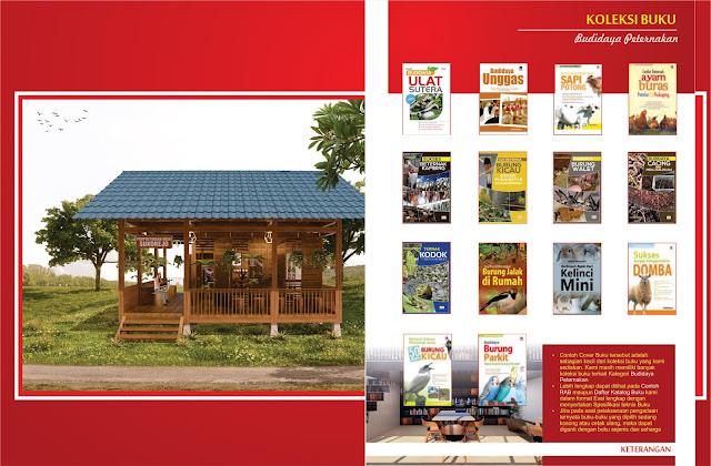 Buku Budidaya Peternakan Untuk Perpustakaan Desa