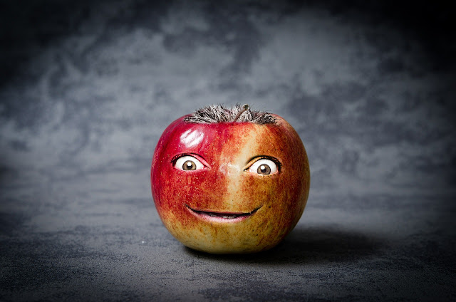 creepy apple