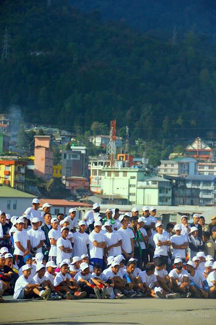 Police-Public Marathon organized by Nagaland Police Kohima Nagaland 6
