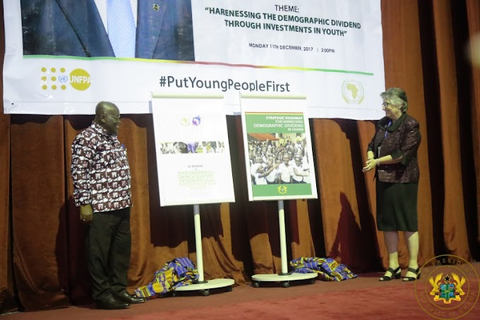 President Akufo-Addo Launches Ghana's Strategic Roadmap For Harnessing Demographic Dividend