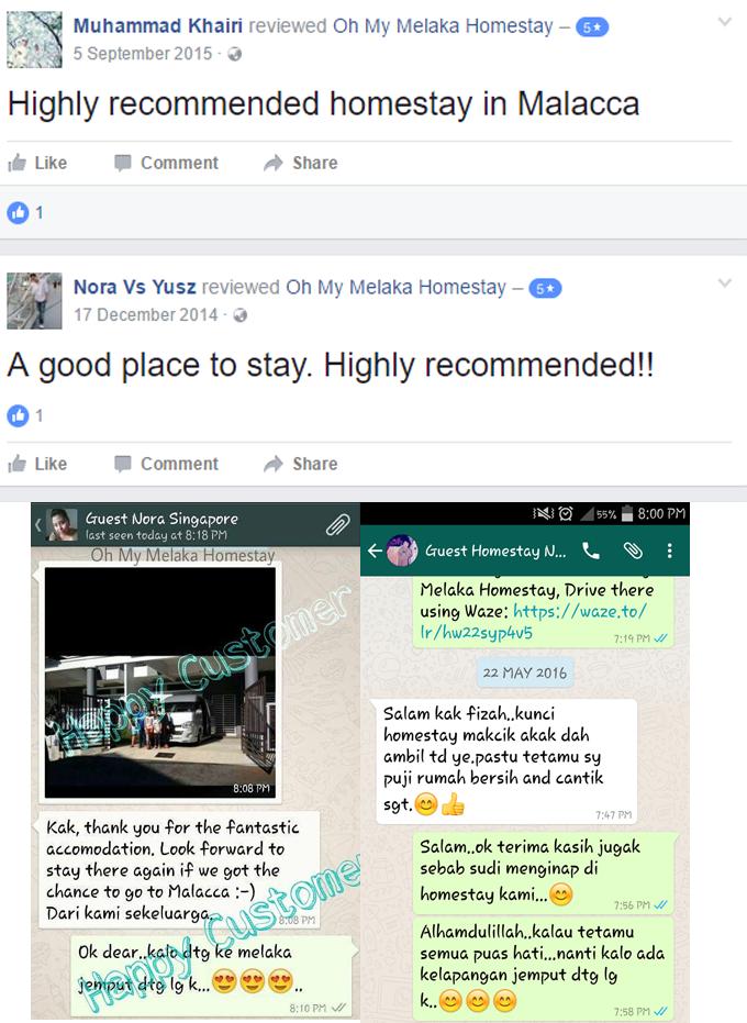 Rekomendasi Penginapan oleh Penginap Homestay Melaka