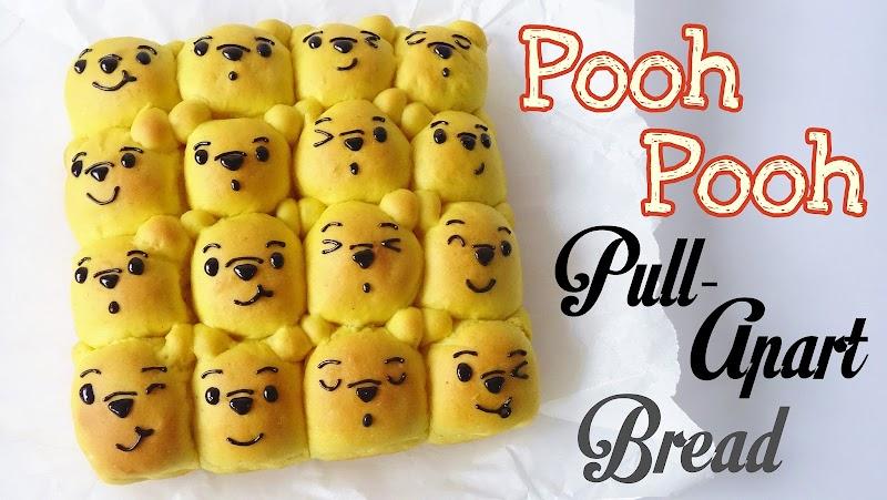 Pooh Pooh pull apart bread 小熊維尼麵包
