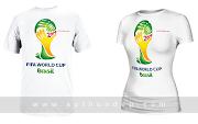 Áo Thun World Cup 2014 Brazil