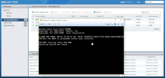 Cara Mudah membuat Virtual Machine Baru menggunakan Console Browser