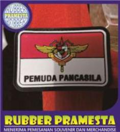PATCH RUBBER GARUDA INDONESIA | PATCH KARET GARUDA INDONESIA | PATCH RUBBER