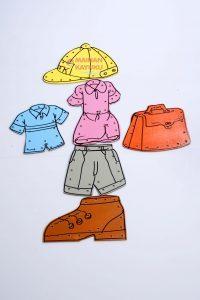 Mainan Montessori Menjahit Pola