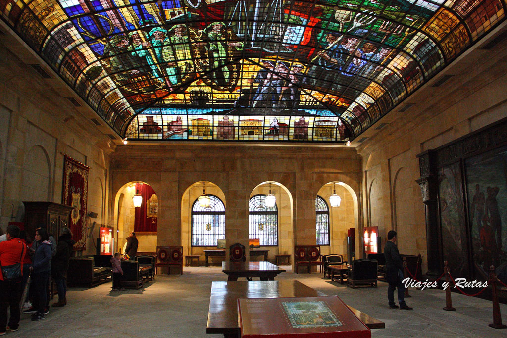 Sala de la Vidriera de la Casa de juntas de Guernica