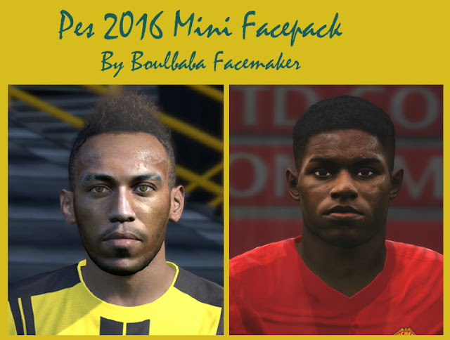 Pes 2016 mini facepack by Boulbaba Facemaker
