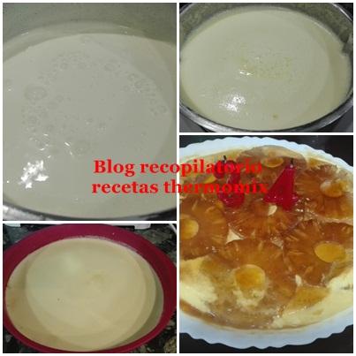 receta de tarta de pina fria thermomix