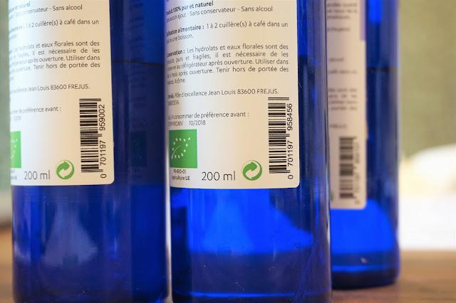 Les produits Terraïa, entreprise basée à Aix et Fréjus