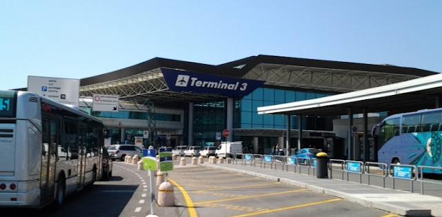Deslocar do aeroporto para o centro de Roma