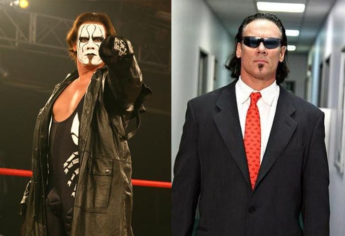 my funny wwe wrestlers then and now pictures